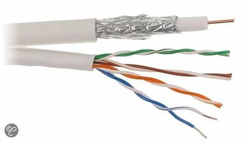 Coax en UTP kabels