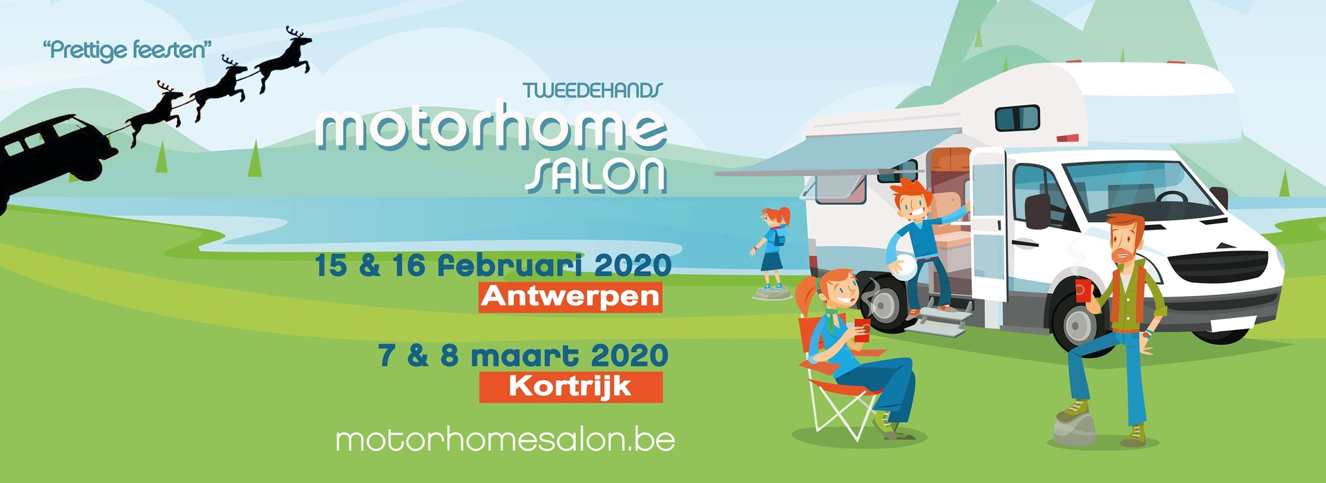 MotorHome Salon in Antwerpen 2020