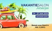Bezoek ons in Vakantiesalon Antwerpen Expo