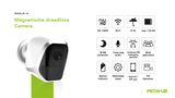 Amiko Home BC-16 - Draadloze Magnetische camera - 2MP - WiFi_