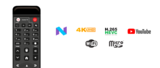 Amiko One OTT 4K UHD Android 7.1 H.265 HEVC_