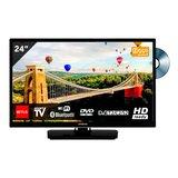 Hitachi 24HE2003 24 inch Smart TV met DVD en WiFi_