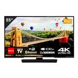 "Hitachi 55HK6002 55"" UHD Smart TV met WiFi - Bluetooth_"