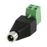 DC female Connector (dc plug met kroonsteenaansluiting vrouwelijk)_