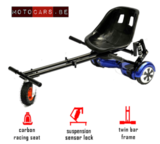 Hoverkart ROOD - extra grote wiel_