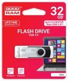 Storage Goodram Flashdrive 'Twister' 32GB USB3.0 Black_