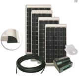 NDS KP100SCM Zonnepaneel 100W SET + Suncontrol MPPT SC300M_