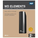 Western Digital WD Elements Desktop 3.5 Inch Externe HDD, 2TB_