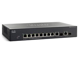 Cisco SG355-10P Managed L3 Gigabit Ethernet (10/100/1000) Zwart Power over Ethernet (PoE)