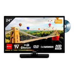 Hitachi 24HE2003 24 inch Smart TV met DVD en WiFi