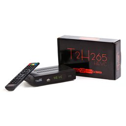 QVIART T2H265 DVB-T2/C FTA HEVC met display