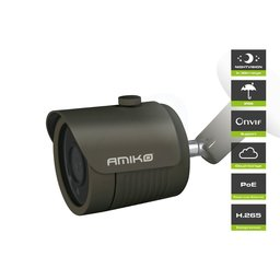 Amiko Home B30M500B POE 5MP Full HD