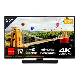 "Hitachi 55HK6002 55"" UHD Smart TV met WiFi - Bluetooth"