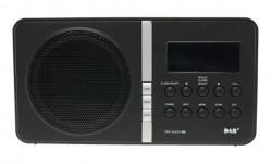 TinyAudio M8 DAB+ radio zwart