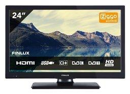 """Finlux FL2422 24"""" LED HDR DVB-T/C CI+ Ziggo"""