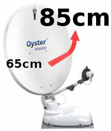 Ombouw Oyster van 65cm -> 85cm