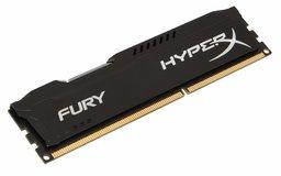 HyperX FURY Black 4GB 1600MHz DDR3 4GB DDR3 1600MHz geheugenmodule