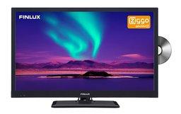 "Finlux FLD2222 22"" 12V LED FHD DVD DVB-T/C CI+ Ziggo"
