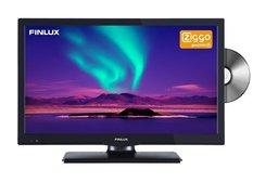 "Finlux FLD2022BK12 12V 20"" LED HDR DVD DVB-T/C CI+ Ziggo"