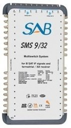 SAB Multiswitch 9 in /32 out