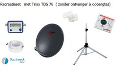 TravelSat TS-78DS Recreatieset Duo Single lnb zonder tas