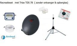 TravelSat TS-78DS Recreatieset Duo Single lnb zonder tas