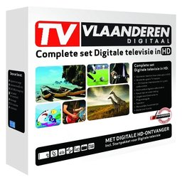 Tv Vlaanderen HD set