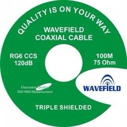 Coax kabel 100 meter wavefield