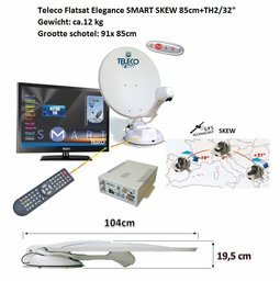 Teleco Flatsat Elegance SMART