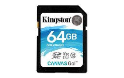 Kingston Technology Canvas Go! flashgeheugen 64 GB SDXC Klasse 10 UHS-I