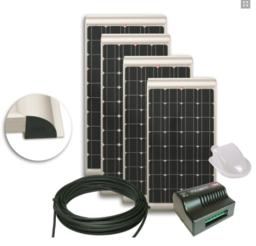 NDS KP100SCM Zonnepaneel 100W SET + Suncontrol MPPT SC300M