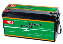NDS GP 150 Service Accu AGM 12V 150Ah 485 * 172 * 240hv
