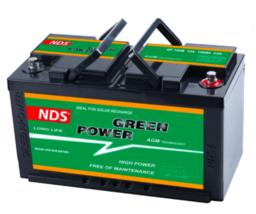 NDS GP 100B Service Accu AGM 12V 100Ah 353 *175*190h Ducato