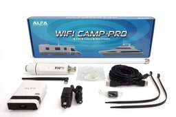 Alfa Network Camp-Pro WiFi Set incl. Antenne en Router