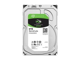 Seagate Barracuda 6TB - 7200 RPM - 128MB - 3.5inch