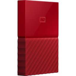 HDD ext. WD MyPassport 2TB  / USB 3.0  / 2.5inch / Red