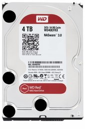 Western Digital Red 4000GB SATA III interne harde schijf - Refusbished
