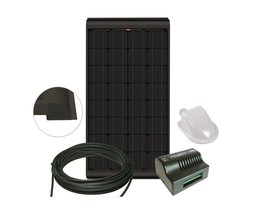 NDS KBS160WP Zonnepaneel Black 160W SET + Suncontrol MPPT