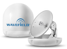 Wavefield WM-T45 Marine Dome Twin Antenna TVRO