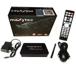Maxytec Infinity IPTV Receiver 3D Android 7.1 Streaming Box 4K
