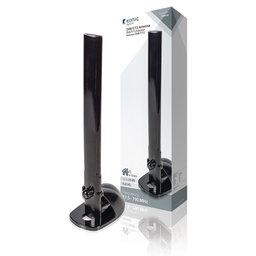 DVB-T/T2 Binnen Antenne 28 dB VHF / UHF