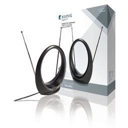 DVB-T/T2 Binnen Antenne 34 dB VHF / UHF