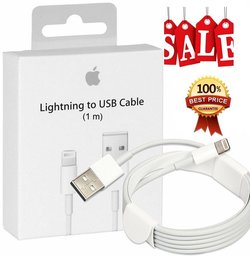 Originele iPhone Lightning oplader kabel 1 Meter
