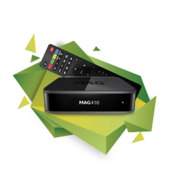 MAG 410 Set-top box