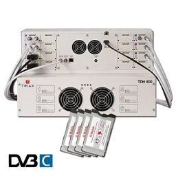 Triax TDH CanalDigitaal Basis DVB-C of DVB-T2 headend pakket Astra 3