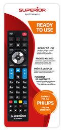 Universeel afstandsbediening voor alle Philips Tvs
