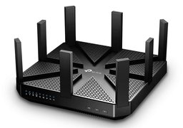 TP-LINK Archer C5400 draadloze router Tri-band (2.4 GHz / 5 GHz / 5 GHz) Gigabit Ethernet