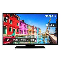 Nikkei NLD22FMBK 22inch Mobile Full HD LED TV 12volt aansluting Ziggo/M7 Fastscan/Joyne