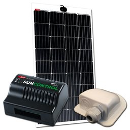 NDS LIGHTSOLAR 145W Semi-Flex Zonnepaneel + SC300M KPL145WP