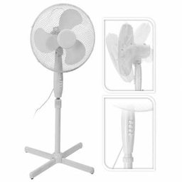 Happy Home Statiefventilator - 40CM - 3 standen - Stille motor